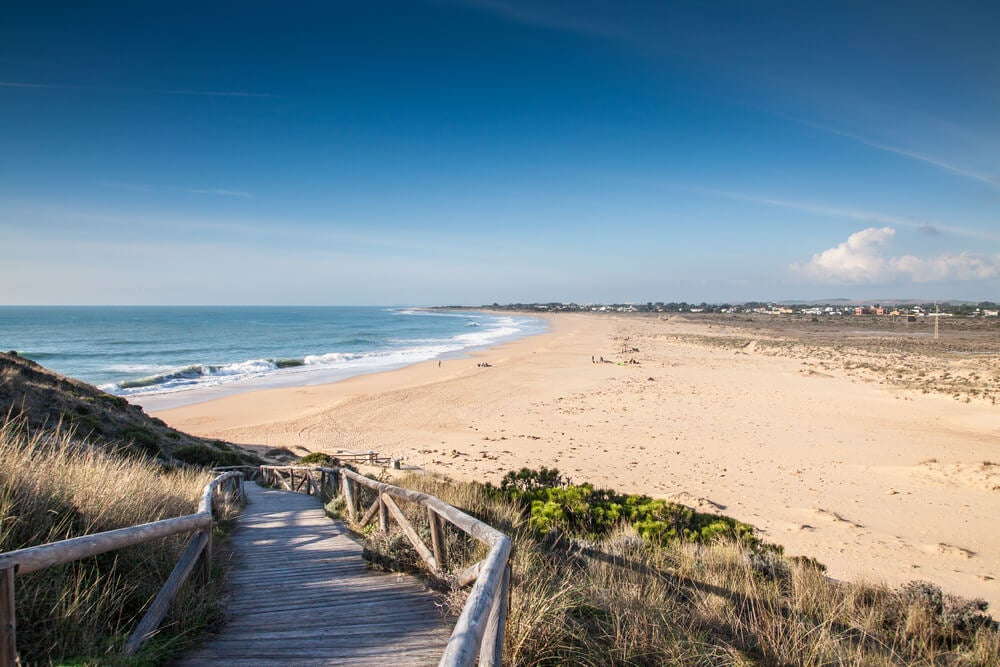 Playas de Cádiz, cabo de Trafalgar