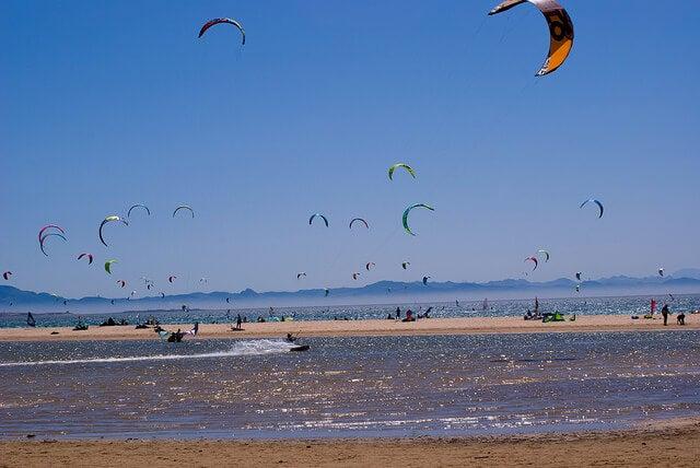 Playa de Valdevaqueros en Cádiz