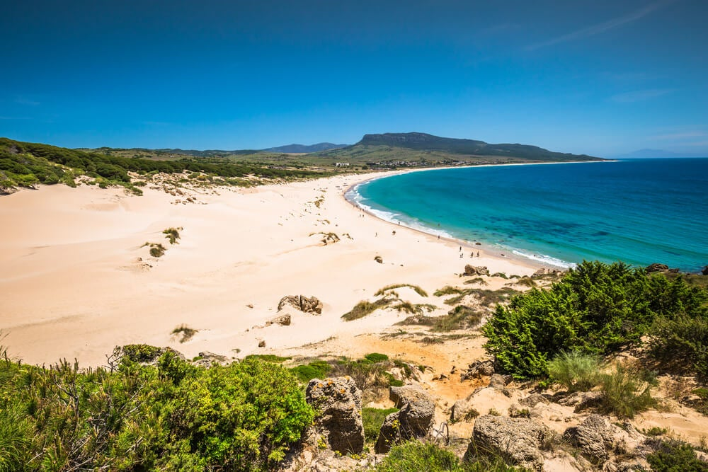 Mapa de las 10 mejores costas de España