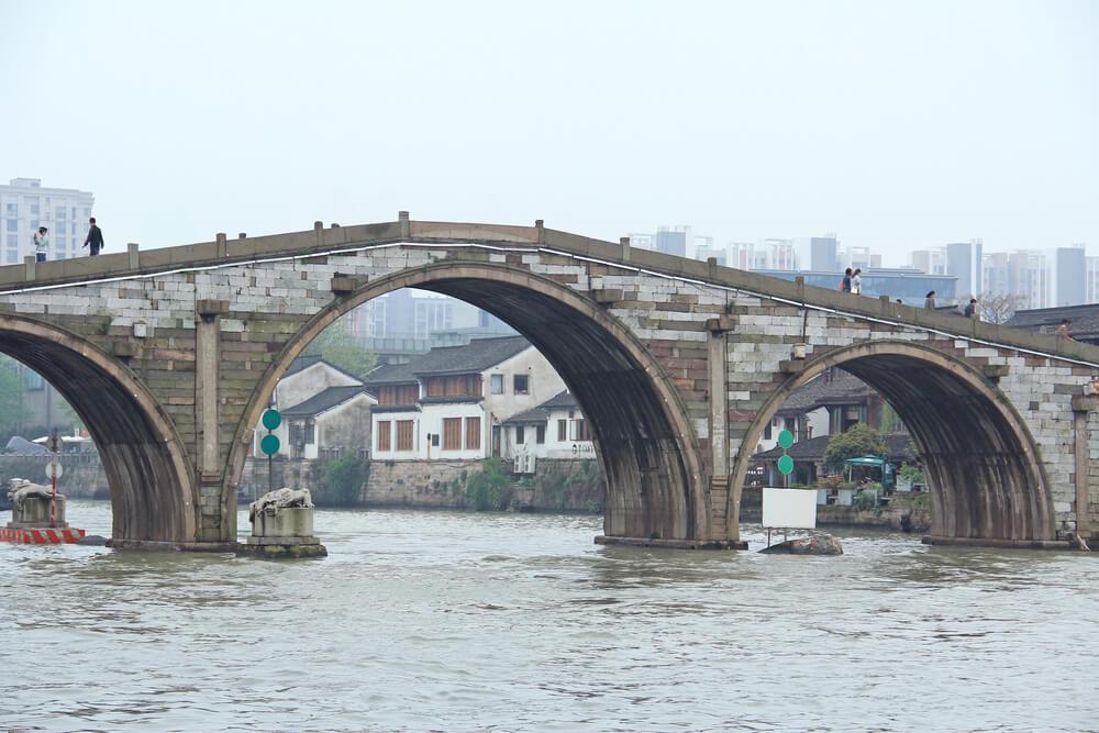 Vista del puente Gongchen