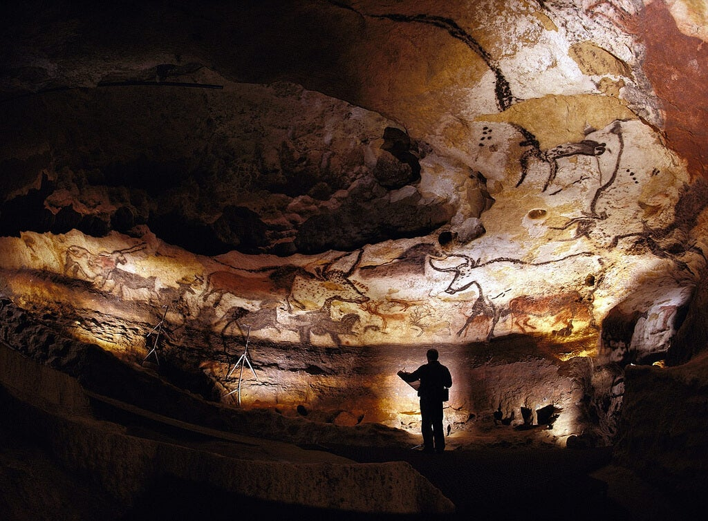 Reproducción de la cueva de Lascaux