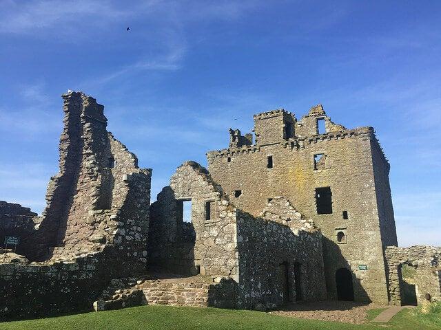 Ruinas del castillo de Dunnottar