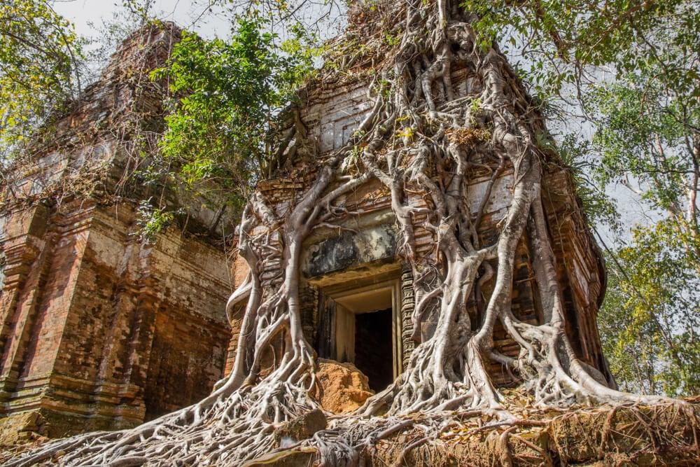 Ruinas en Koh Ker
