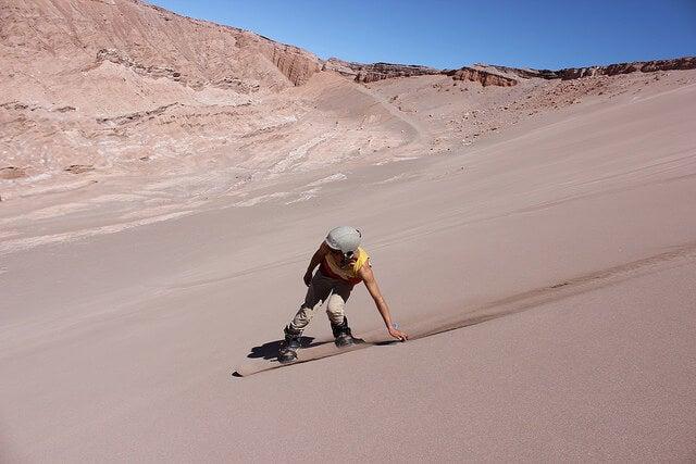 Sandboard en San Pedro de Atacama