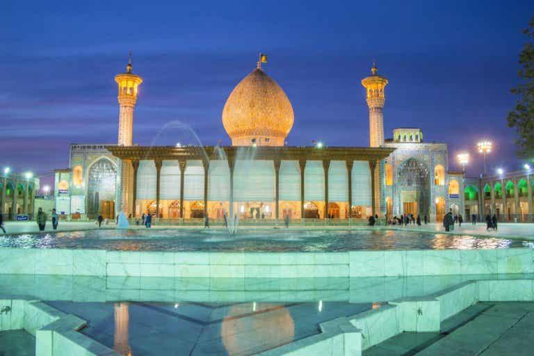 Santuario Shah-e-Cheragh, un lugar sagrado en Irán