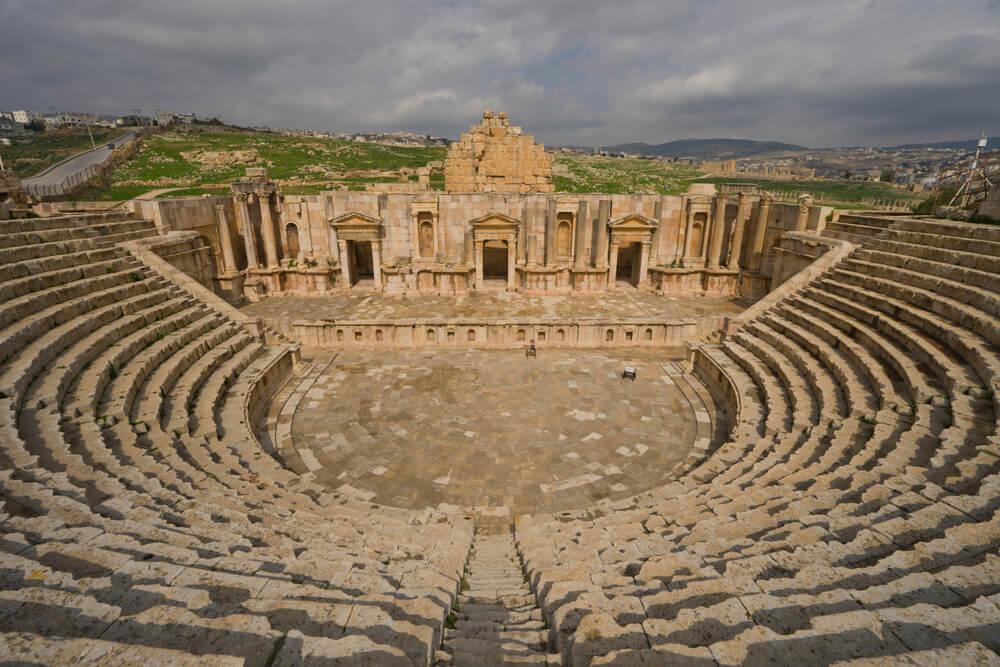 Teatro Sur en Jerash