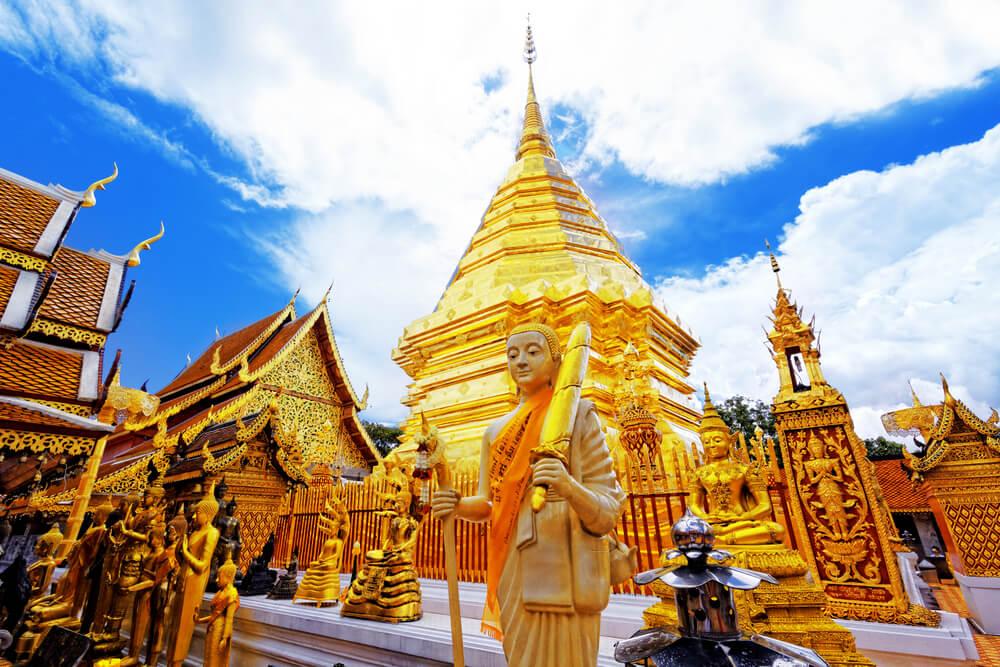 Doi Suthep: un fabuloso templo budista en Tailandia