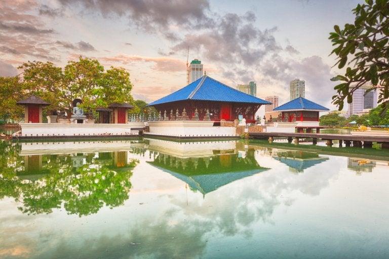 Lugares de la isla de Sri Lanka para alojarse