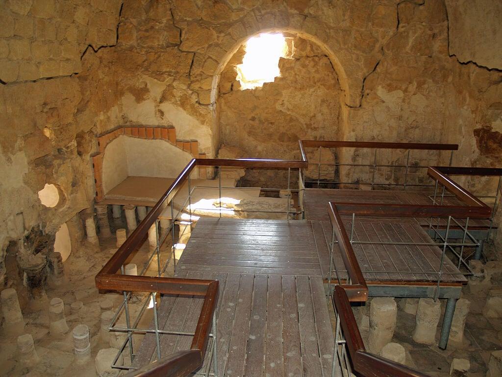 Termas de la fortaleza de Masada
