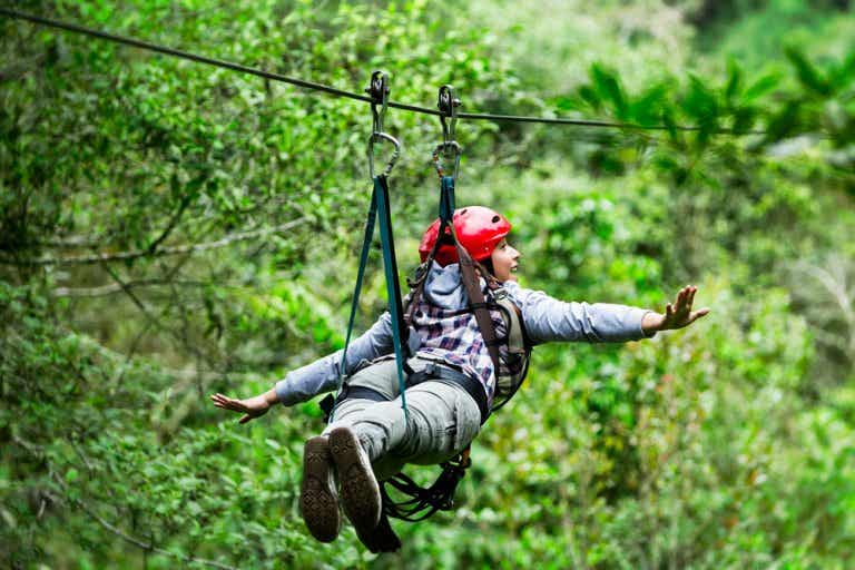 Tirolina en Punta Cana, otra forma de disfrutar del paraíso