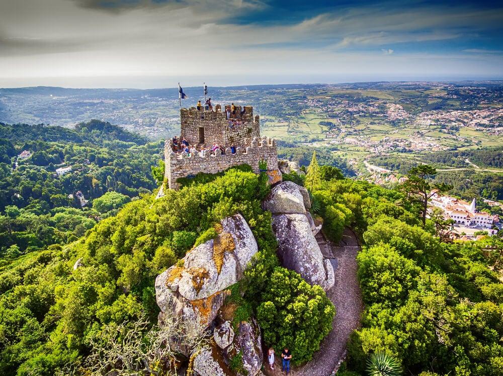 Torre del castillo de Sintra