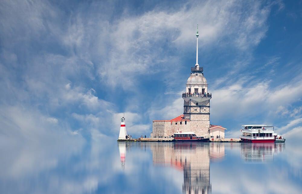 Torre de la Doncella en Estambul