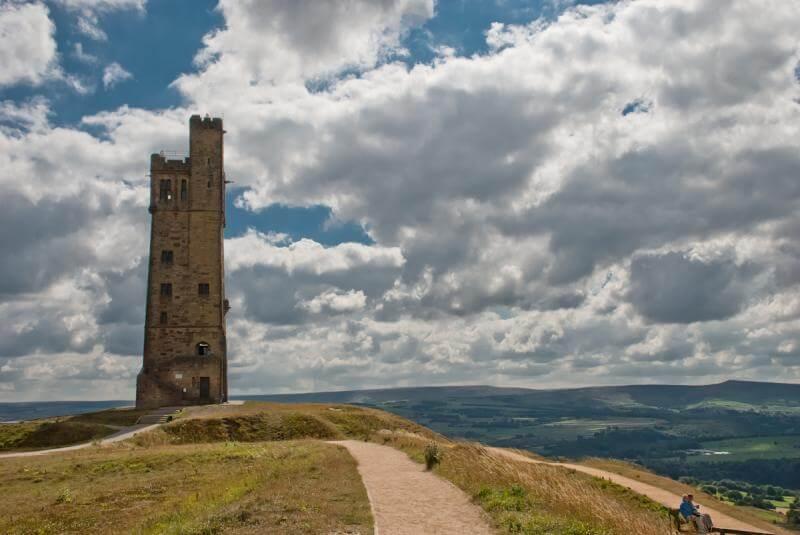 Torre Victoria en Huddersfield
