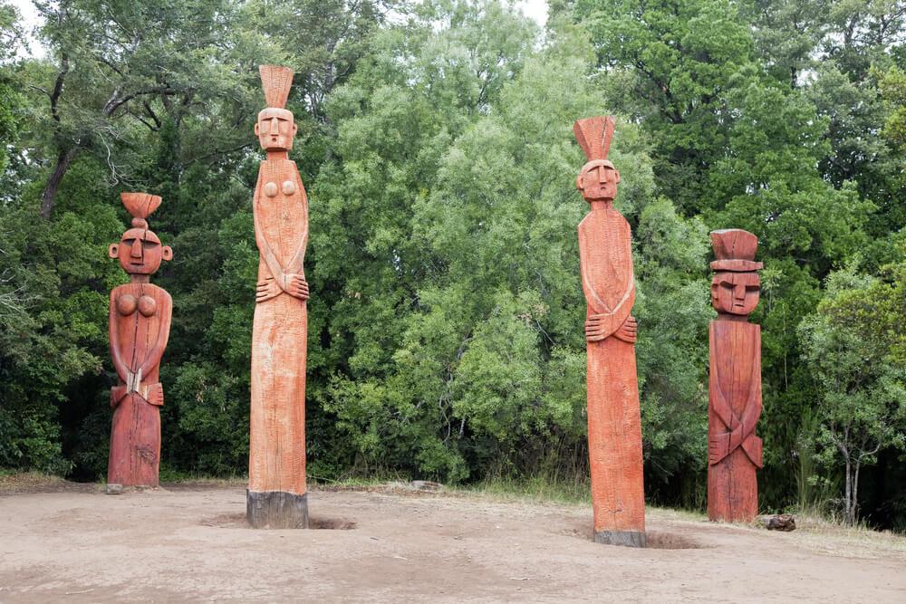 Tótems mapuches