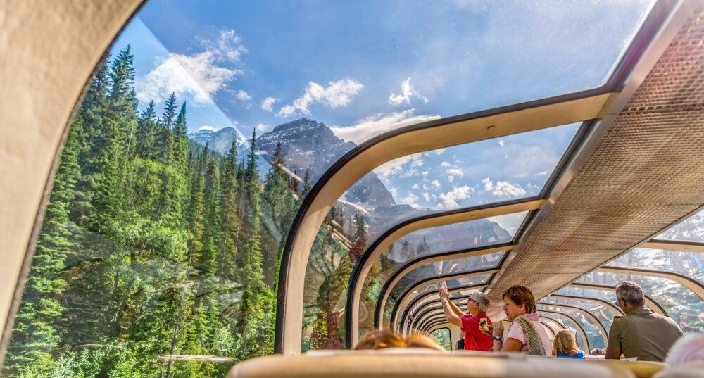 Vagón panorámico del Roxky Mountaineer