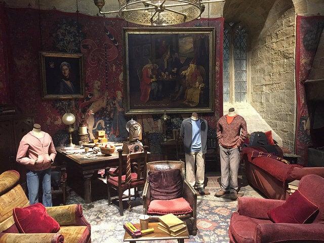 Vestuarios en los estudios de Harry Potter