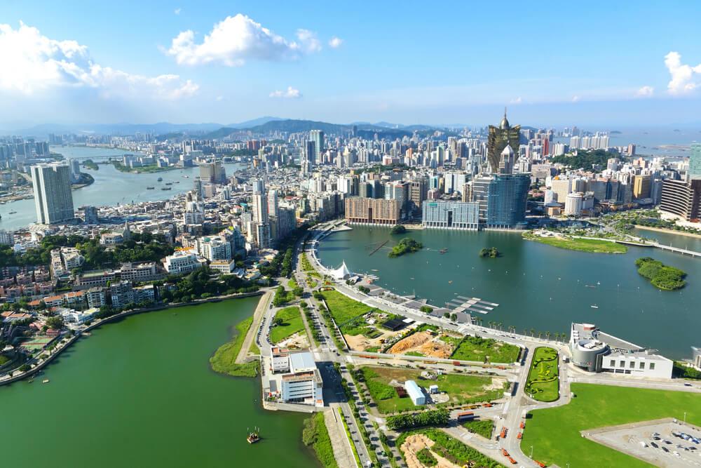 Vista desde la torre de Macao