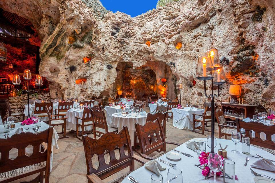 Restaurante Ali Barbour's Cave