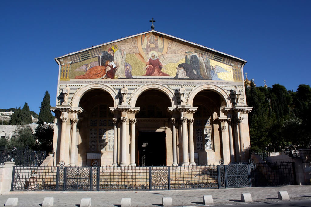 Basílica de las Naciones en el monte de los Olivos