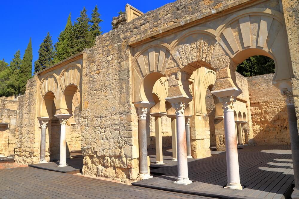 Edificio basilical superior en Medina Azahara