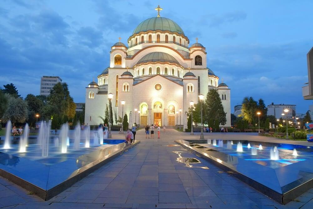 Catedral de San Sava en Belgrado