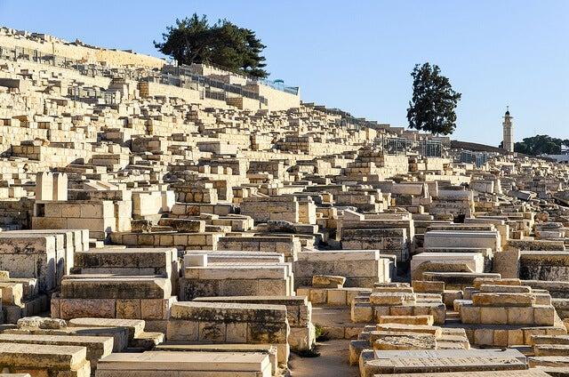 Cementerio judío en el monte de los Olivos