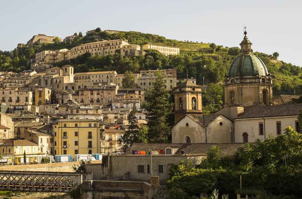Vista de Cosenza
