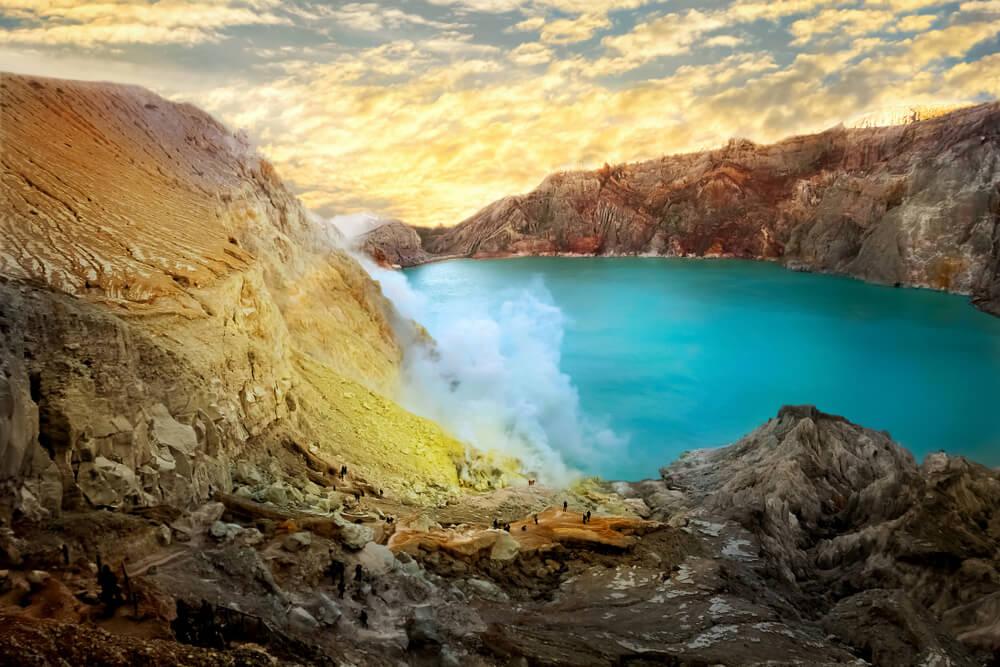 Ver volcanes en Indonesia: monte Bromo y cráter Ijen