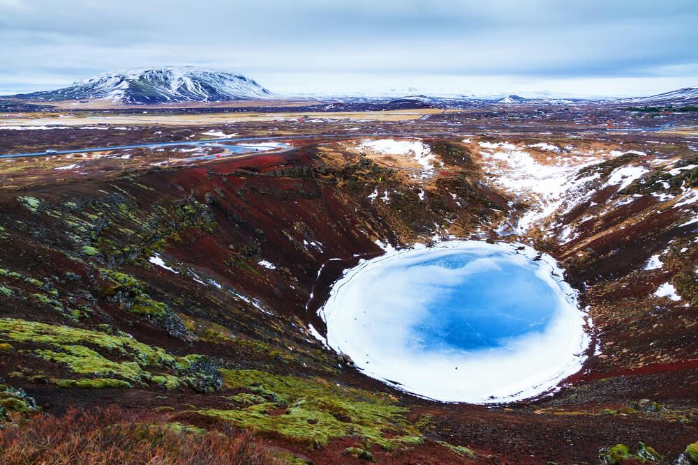 Cráter Kerio en el Círculo Dorado