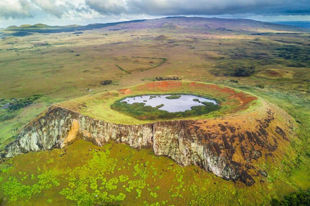 Cráter del Rano Raraku