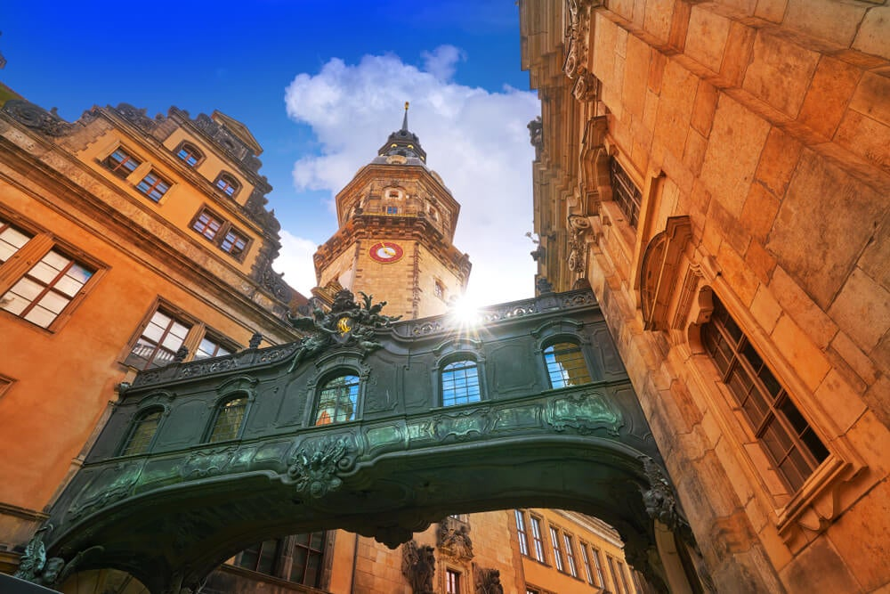 Pasaje en el Palacio Real de Dresde