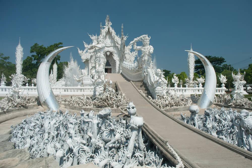 Acceso al Templo Blanco