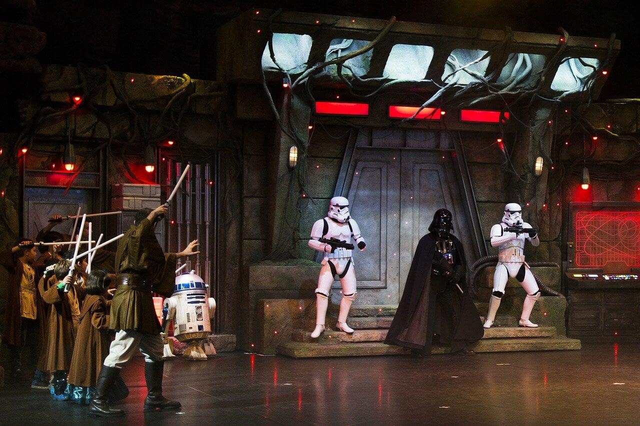 Espectáculo de Star Wars