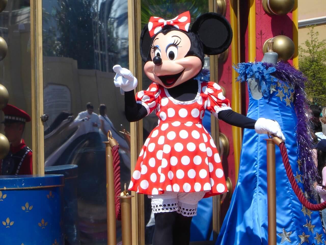Minnie Mouse en Disneyland