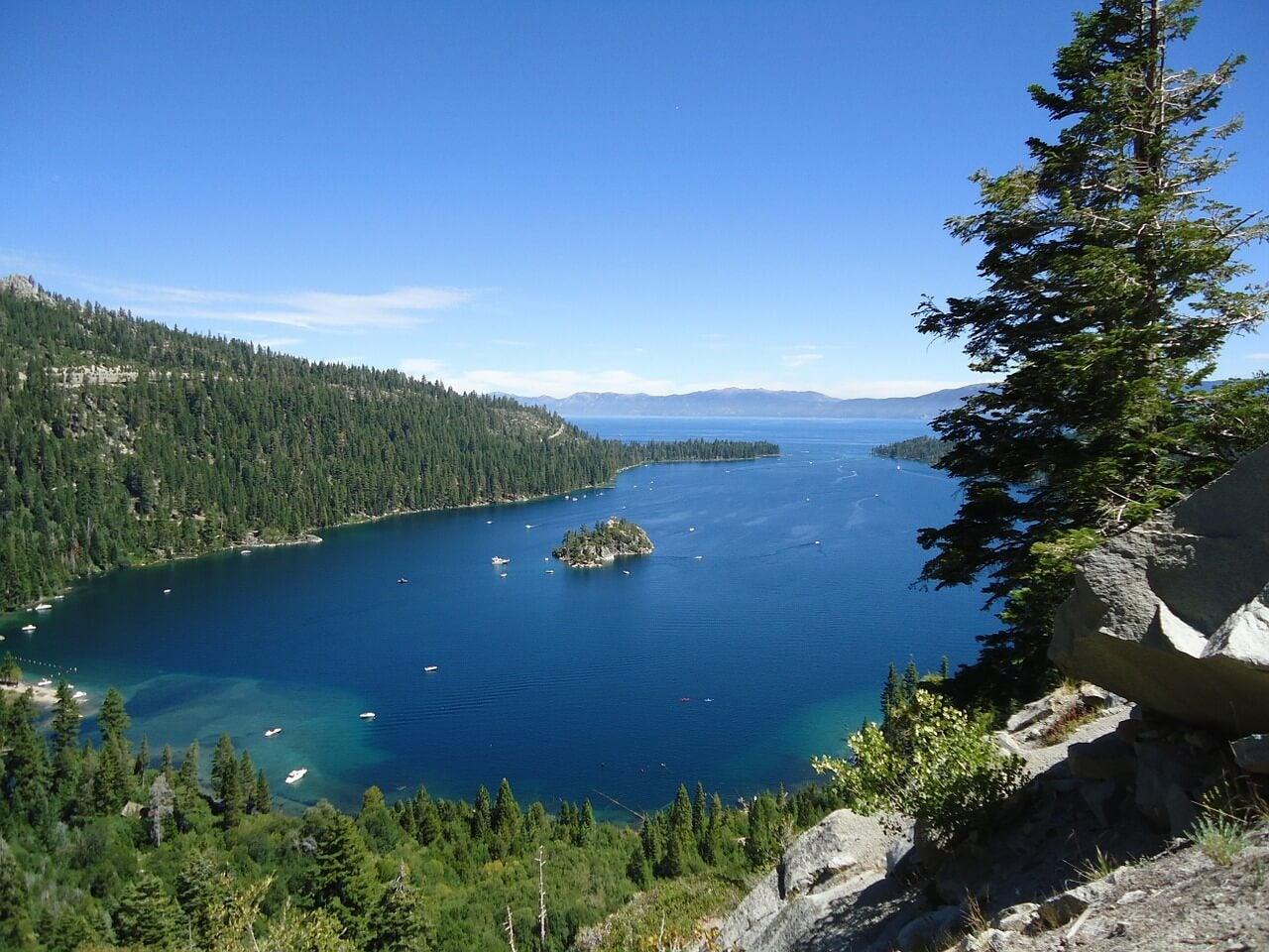 Vista de Emerald Bay