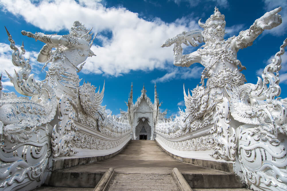 Entrada al Templo Blanco