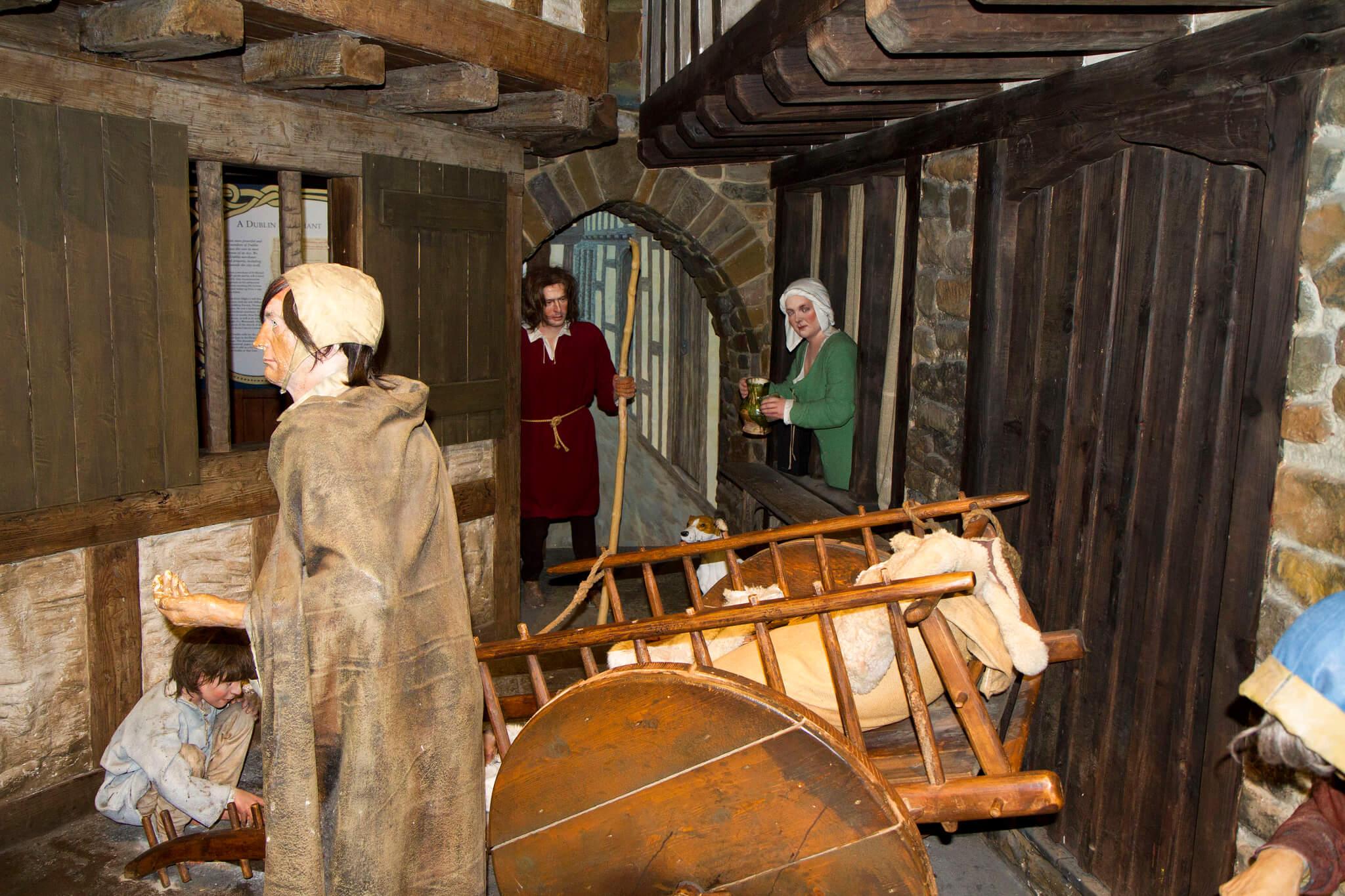 Escena medieval en Dublinia