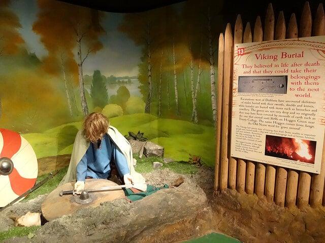 Escena vikinga en Dublinia
