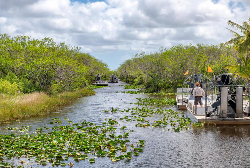 Airboat en el Parque Nacional Everglades