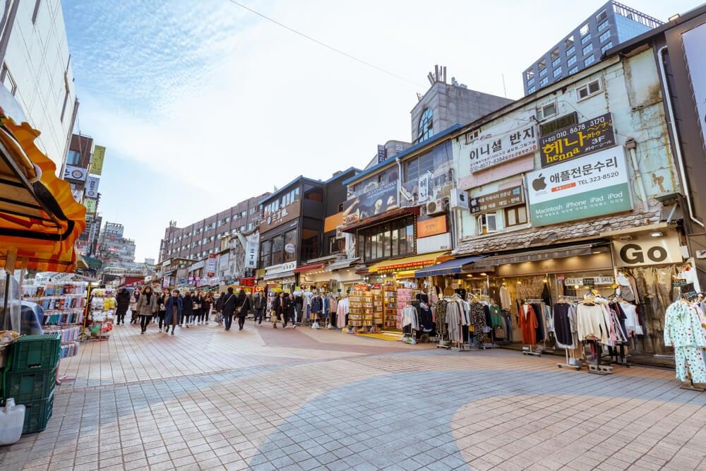 Barrio de Hongdae