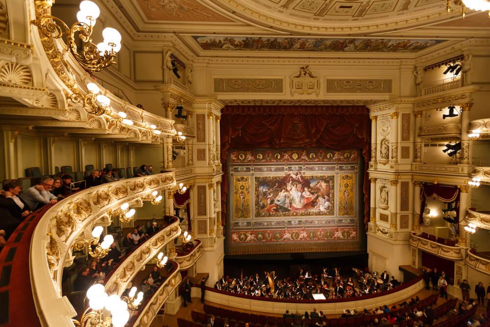 Sala principal de la Ópera Semper