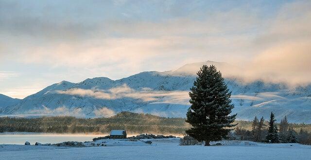 Vista en invierno