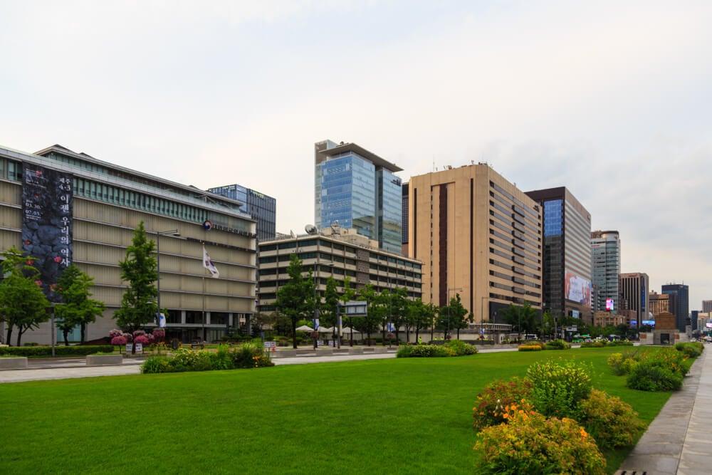 Barrio de Jung-gu en Seúl