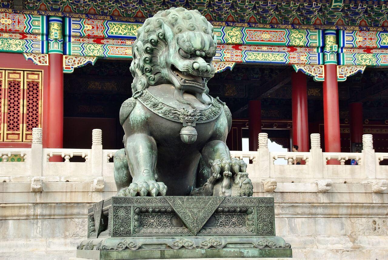 León en la Ciudad Prohibida