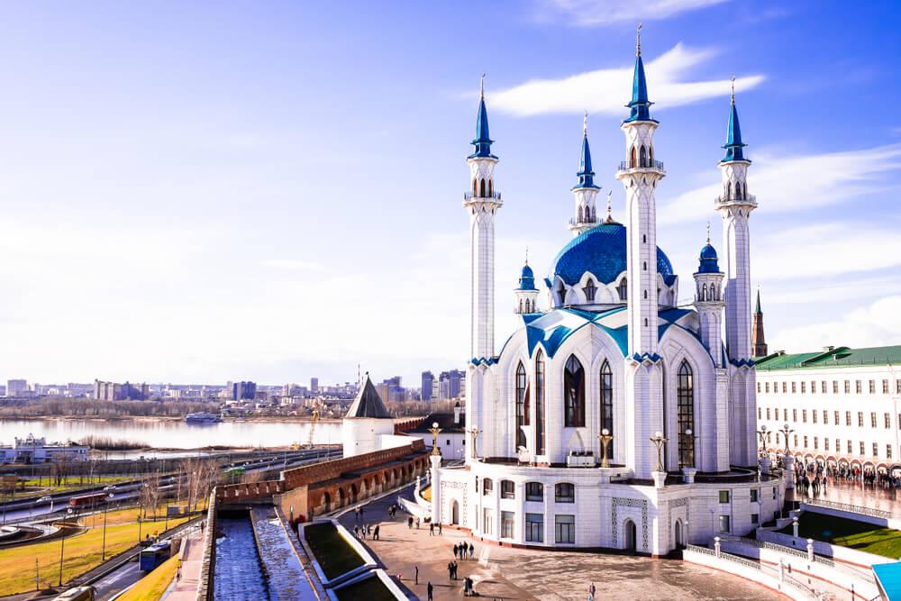 Mezquita Qol Šärif en Kazán
