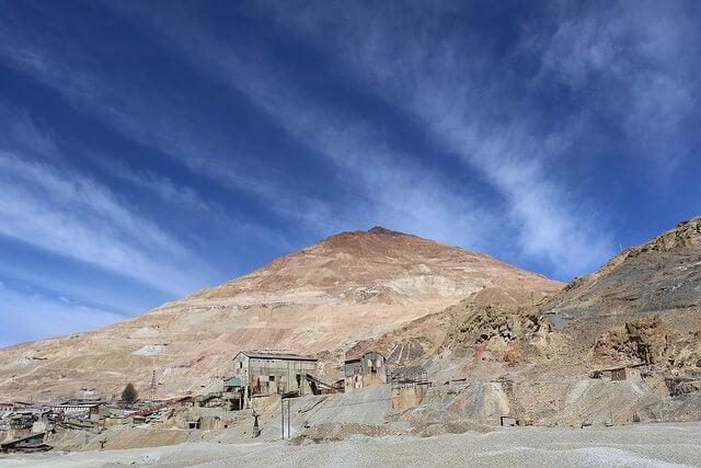 Mina en Potosí, una de las ciudades de Bolivia