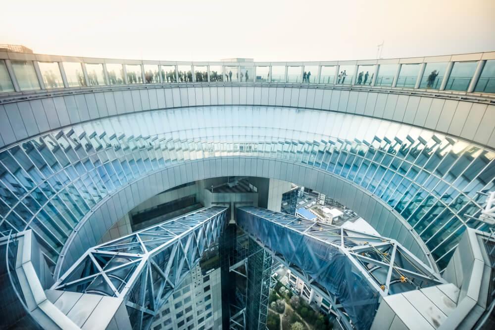 Mirador del Umeda Sky Building