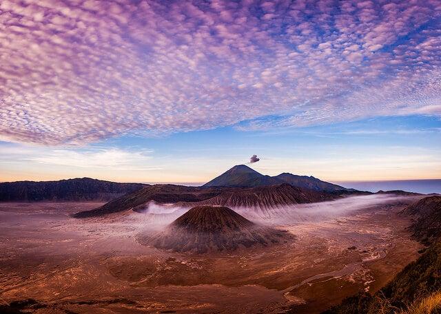 Vista del monte Bromo