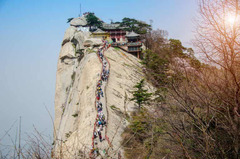 Todo lo que debes saber del ascenso al monte Huashan