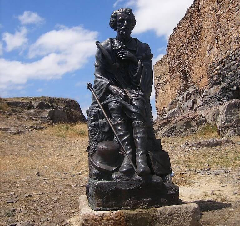 Monumento a Bécquer en Trasmoz